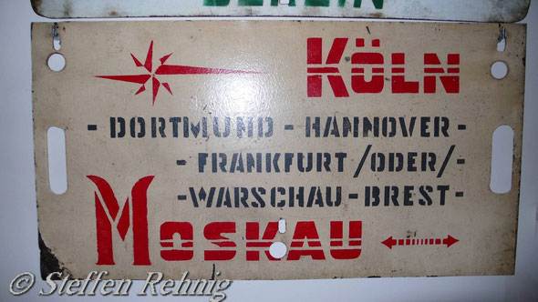 SŽD / СЖД - Schlafwagen Moskau-Köln-Moskau