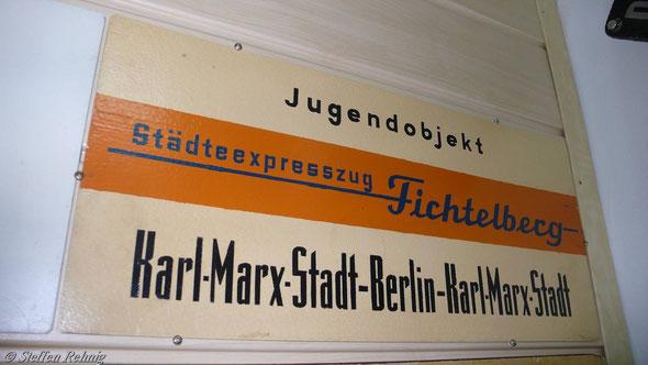"""DR - Städteexpress Ex 172/175 """"FICHTELBERG"""" (1987)"""