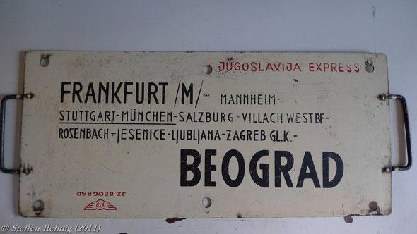 "JŽ - D 294/295 ""Jugoslavia Express"""