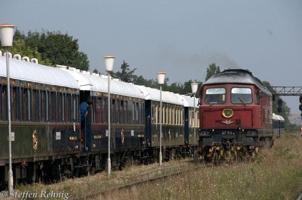 .... die neue BDZ Zuglok 07 111.8  ....