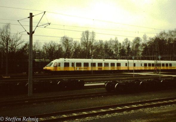 Rangierarbeiten zur Überführung nach Berlin Spandau (2001)