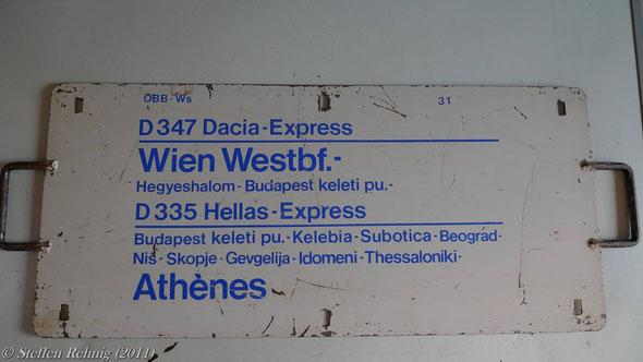 """ÖBB - Kurswagen D 347/346 """"DACIA EXPRESS"""" D 334/335 """"HELLAS EXPRESS"""""""