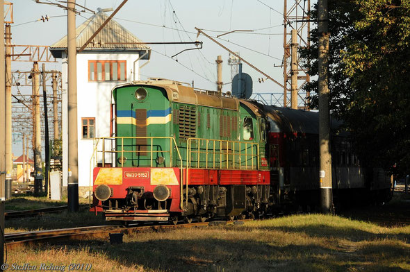 ЧМЭ 33-5152 (Normalspur) in Chop (30. September 2011)