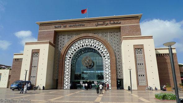 Bahnhof Marrakech ....