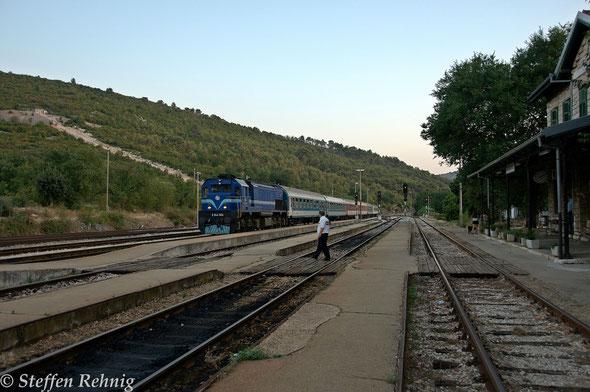 """G 1205 """"ADRIA"""" Split - Zagreb Gl.Kol. - Budapest in Perković / Croatia (3.8. 2015)"""