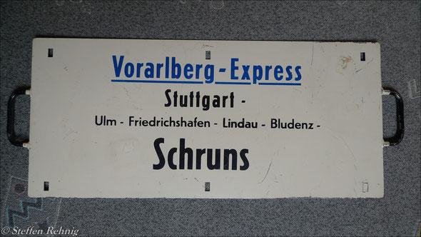 """DB - D 418/419 """"VORARLBERG EXPRESS"""" der DB - Kurswagen auf der Montafonerbahn"""