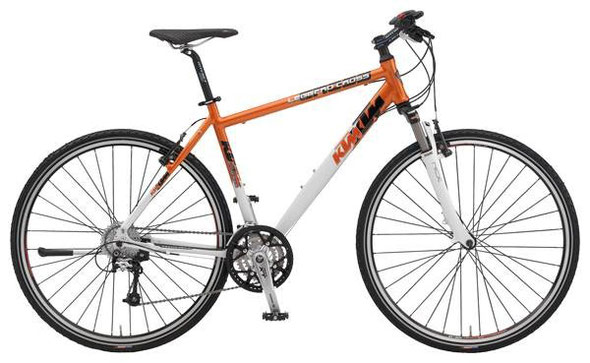 Alltags-Hobel: KTM Leggero Cross 2009 - Orange/Weiß