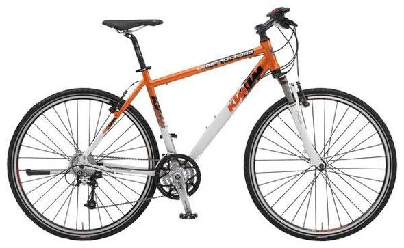 Alltags-Hobel: KTM Leggero Cross 2009 - Orange/Weiß