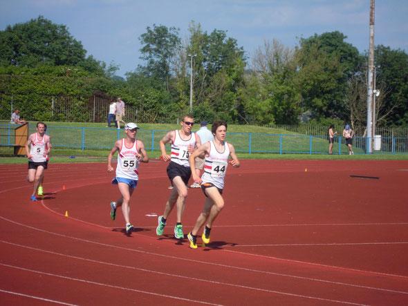 Paul Barlow (55), Steve Millward (5) - 5000m