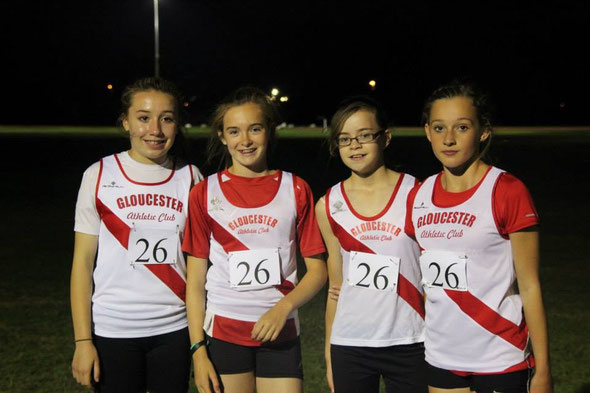 U13 girls B team