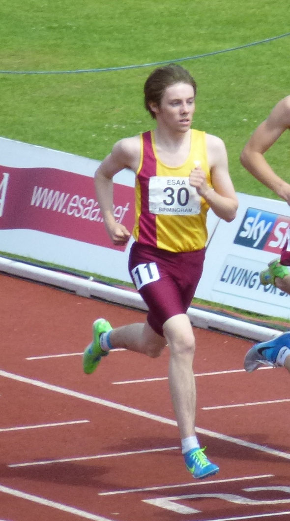 Tom George at ESAA Championships