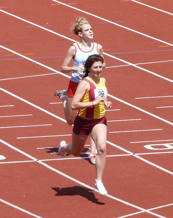 Dayna Willoughby at ESAA Championships