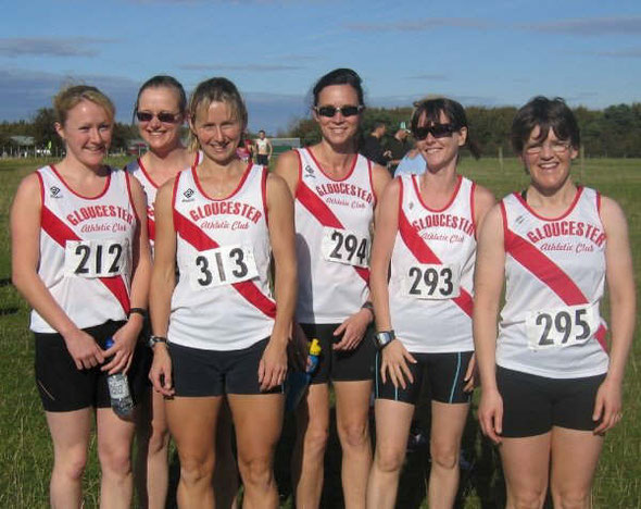 l to r: Gemma Collier, Fiona Roberts, Emma Jeffery, Michelle Stark, Lorraine Ryan, Christine Campbell