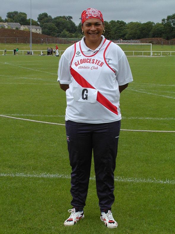 Lorraine Shaw at Bath for the Avon League