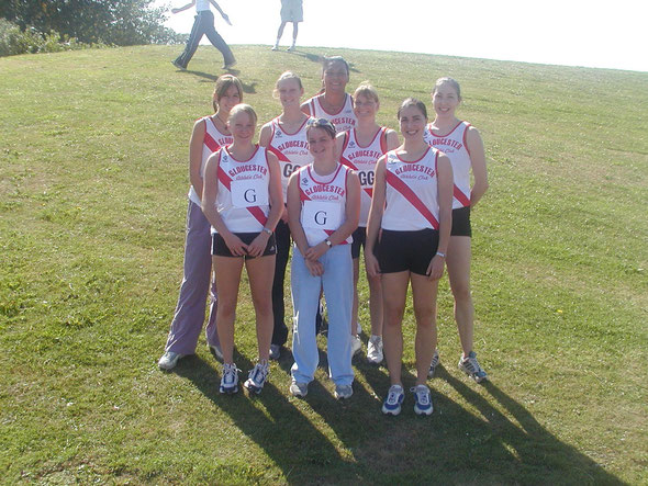The Senior Ladies team at Yate