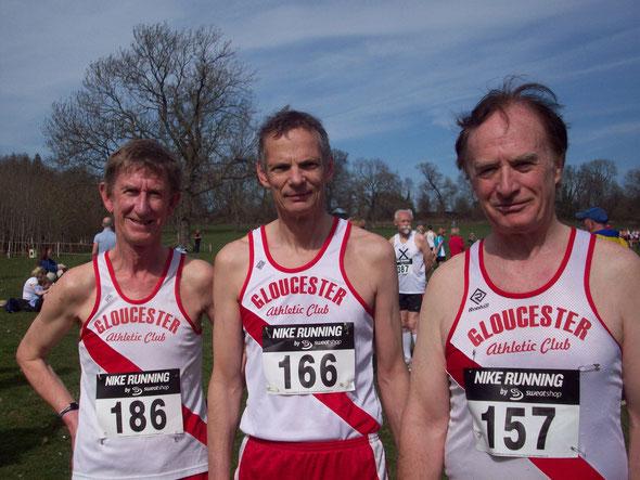 l-r: Arthur Daley, Humphrey Phillips, John McClean