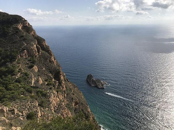 Parque Natural de Serra Gelada (Sierra Helada), Benidorm, Alicante (Comunidad Valenciana)