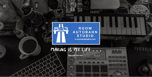Room Autobahn Studio,Matsuyama,Website,Beatmaker