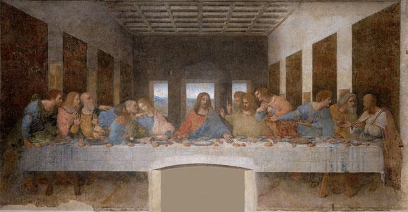 L'ultima cena di Gesù con i suoi apostoli