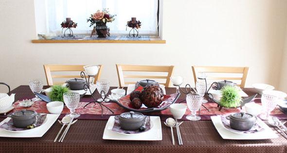 千葉 料理教室 「a table」