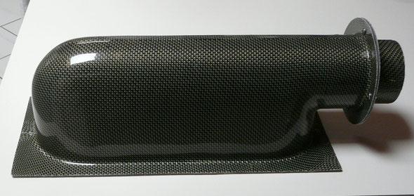 Boite à air moteur Honda - Carbone Kevlar