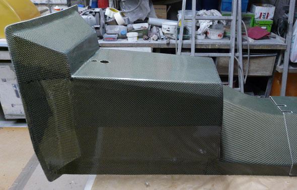 Protection boite à vitesses - Carbone Kevlar