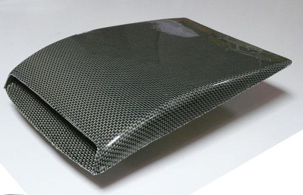 Ecope de toit double - Carbone Kevlar