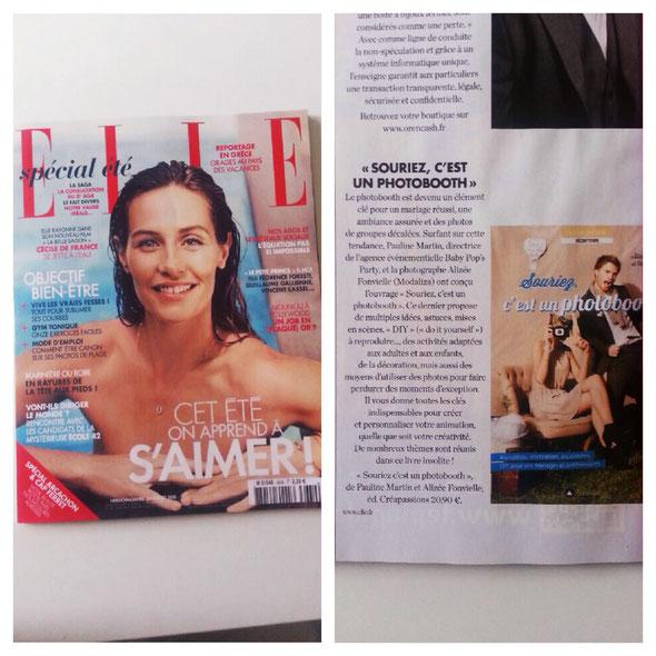 """Livre """"Souriez, c'est un photobooth""""  - Co-auteur : Alizée Fonvielle / Pauline Martin  -  Ed. Créapassions"""