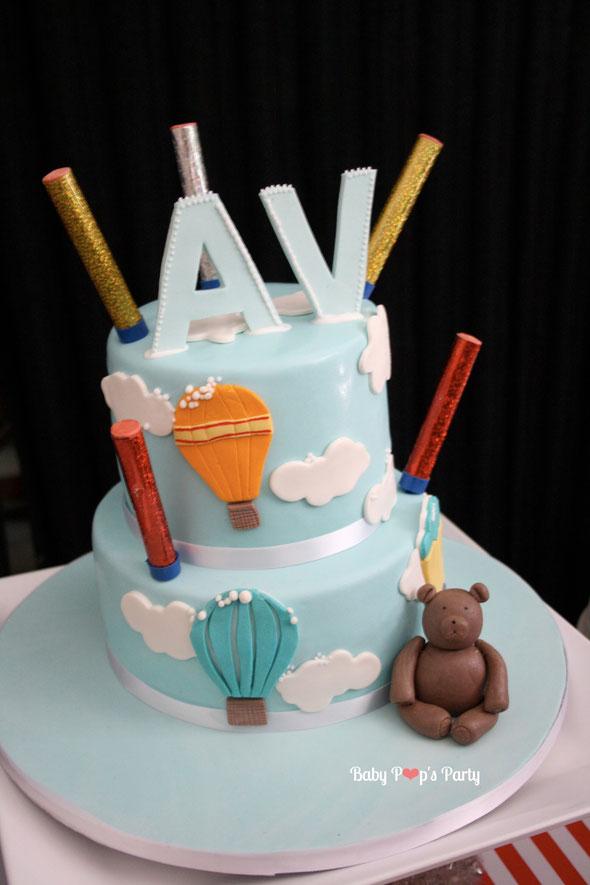 cakedesign gâteau décoré 3D bébé garçon baptême