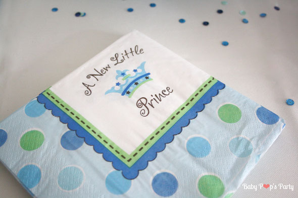 baby shower a new little prince boy bébé garçon party fête grossesse naissance jeux décoration organisation bleu blanc vert sweet table candy bar bonbons france paris bordeaux toulouse charente 33 17