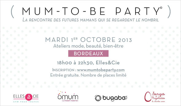 mum to be party bordeaux 33 aquitaine gironde elles&cie omum bugabo songes et rigolades baby pop's party sweet table décoration