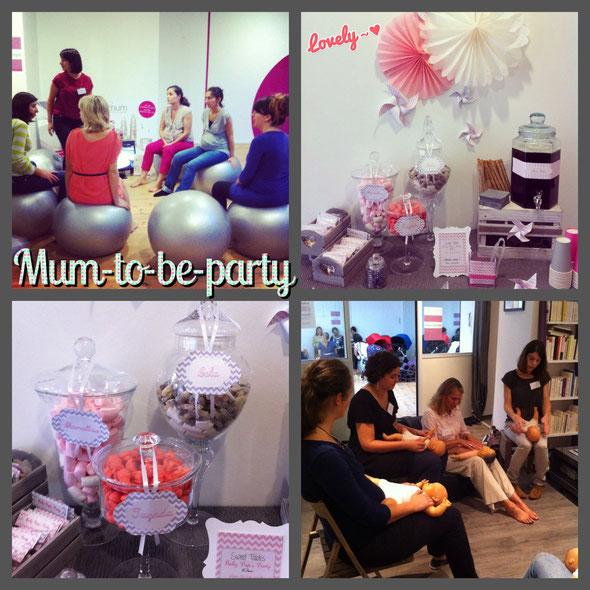 mum to be party bordeaux 1ère édition