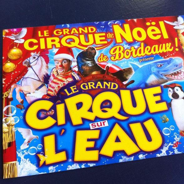 le grand cirque sur l'eau bordeaux