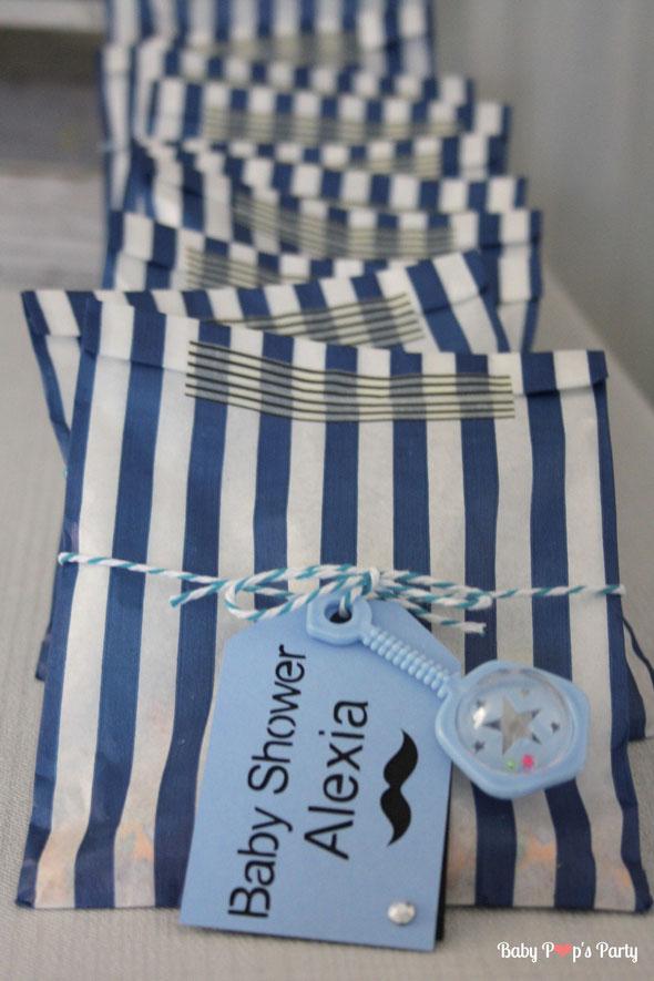 baby shower garçon bébé boy moustache bleu blanc gris grossesse fête naissance enceinte sweet table