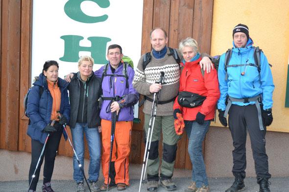 Start zur Etappe Hallwang-Pöndorf (18.12.)