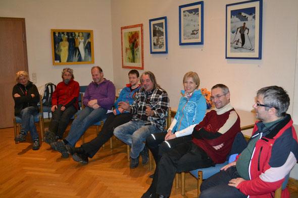 Hoagascht in Großgmain. Mit Helmut (2. von rechts), alleine ihn zu erleben war den Abend Wert...