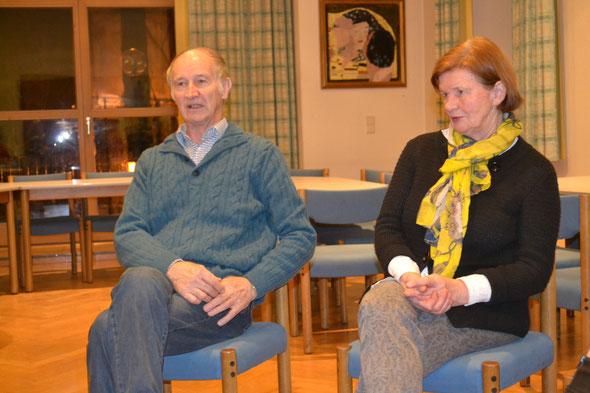 Unser Botschafter Rupert Mayr mit Gattin beim Hoagascht in Großgmain. Extra aus Tirol angereist. Danke!