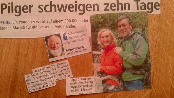 Bericht Salzburger Nachrichten