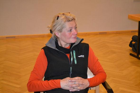 Irmgard aus Allerheiligen beim Hoagascht in Bad Vigaun