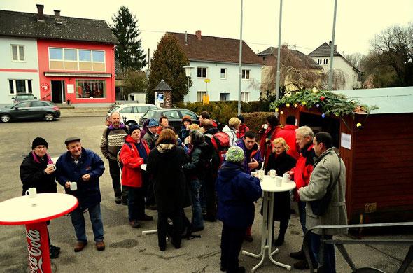 Der von Vizebürgermeisterin Hermine Leitner organisierte Glühweinempfang in Arbing... Danke!