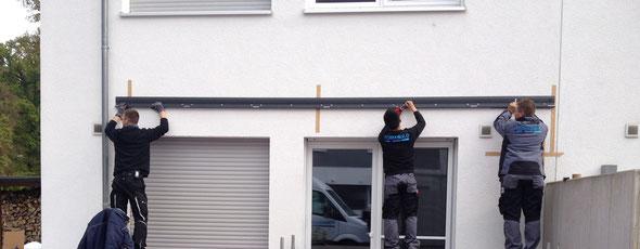 Terrassendach Montage in Nauheim