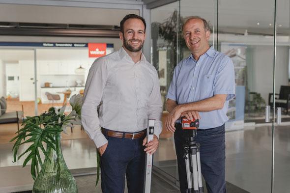 Andreas und Gerardo Tomasulo im Showroom in Weiterstadt