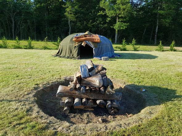 hutte de sudation