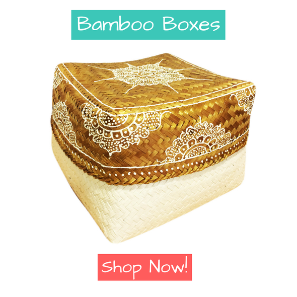 bamboo box from bali, cenang used during balinese hindu ceremony