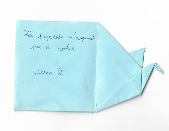 Altan, 12 ans Collège de Montchanin 2013