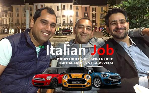 The Italian Job - WCC tour to Parma, Italy (5 & 6 May 2018)