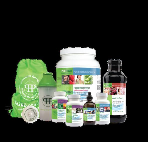 10-Tage Transformation Abnehmen Kur Chlorella Entgiftung Detox