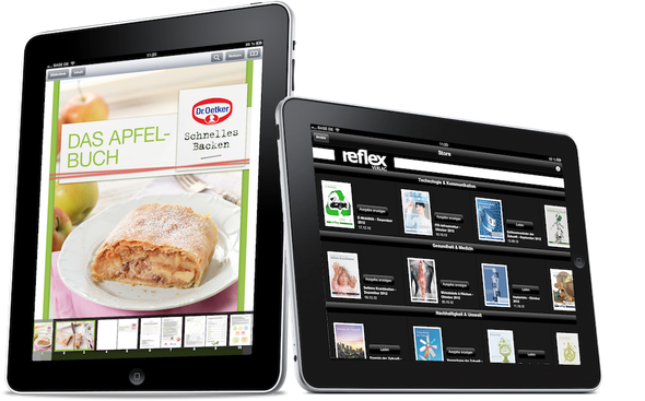 Unipush Print im Einsatz: die flexible ePublishing Lösung für Tablets und Smartphones