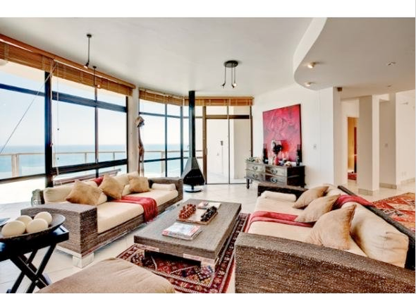 Interior of Hout Bay house on the market for R12m (£1.2m)