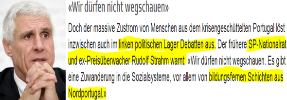 Rudolf Strahm gegenüber SRF